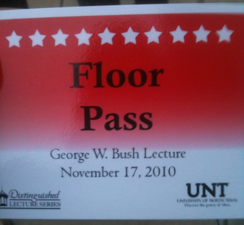 W Floor Pass