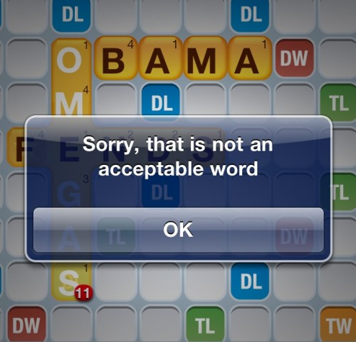 Obama is unacceptable