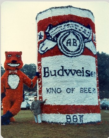 Our float in the early 80's. TFM.