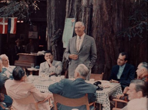 The Bohemian Grove.  The true definition of a fraternity of brotherhood.