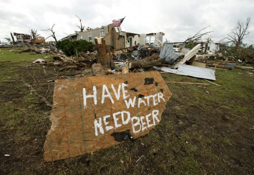 Our thoughts and prayers go out to all those affected in Joplin.  This is the definition of fratting hard in the face of adversity. TFM.