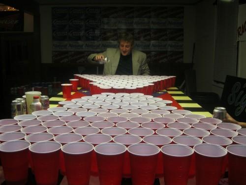 Regular Beer Pong. NF. Century Pong. TFM.