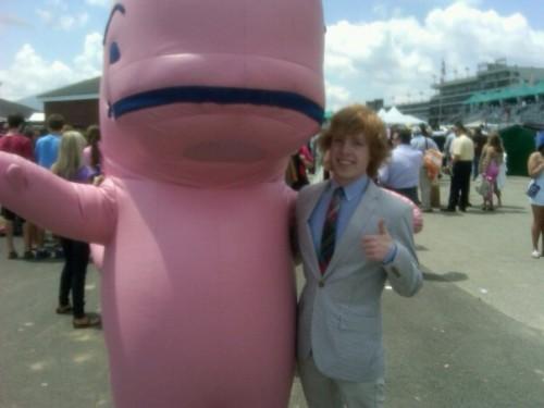 VV Whale Mascot. TFM.