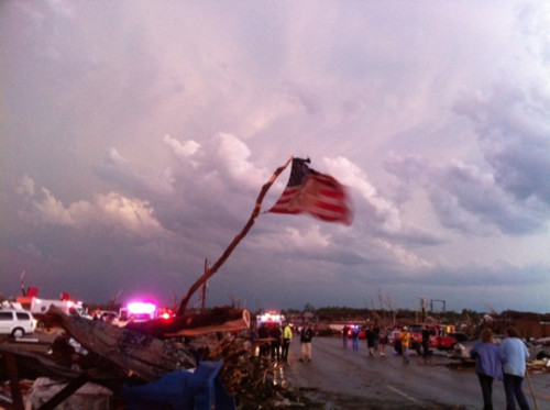 Praying for Joplin, MO and the rest of the Southeastern United States.