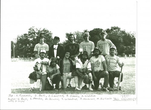 Dad's team won all university back in the late 70's. TFM.