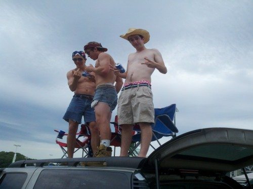 Oh the looks we got from them northerners at Fedex field. TFM.
