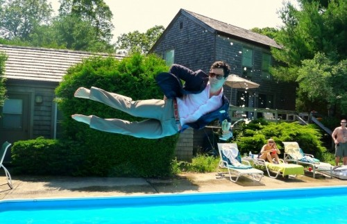 The new planking, leisure diving. TFM.