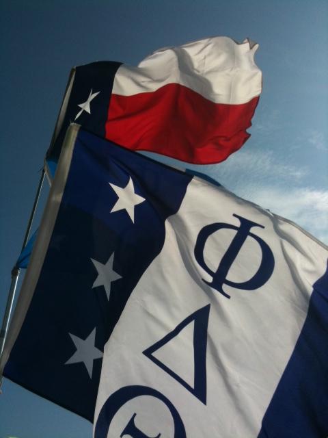 Representing Texas and Phi Delta Theta in Panama City Beach.