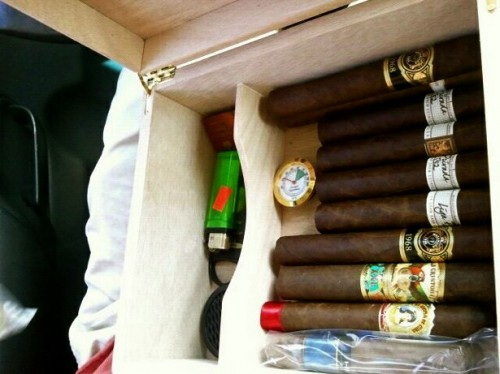 New humidor about quality, not quantity. TFM.