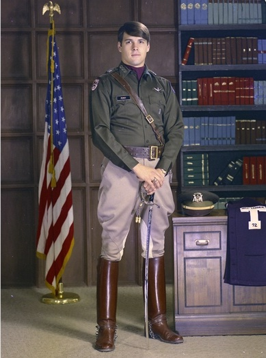 Rick Perry looking Presidential in his college portrait. TFM.