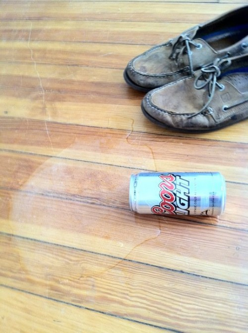 Earthquake devastation from Richmond, VA. Wasted beer.