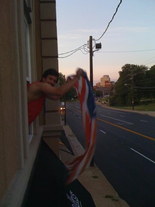 Always celebrating America. TFM.