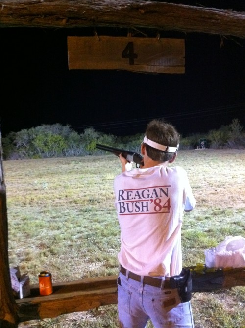 Shaking off the rust, five weeks until dove season. TFM.