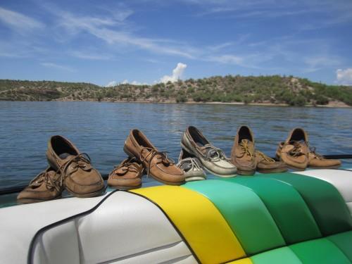 Boat day.