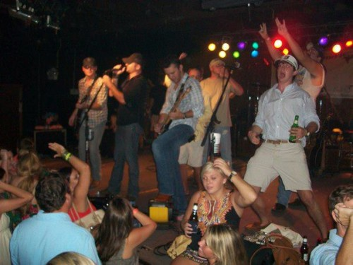 Blacking out and getting on stage. TFM.