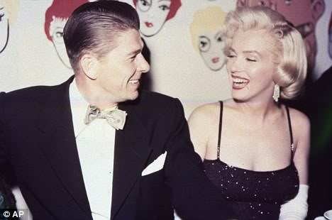 Too hungover to write a caption. Reagan, bow ties, Marilyn Monroe...