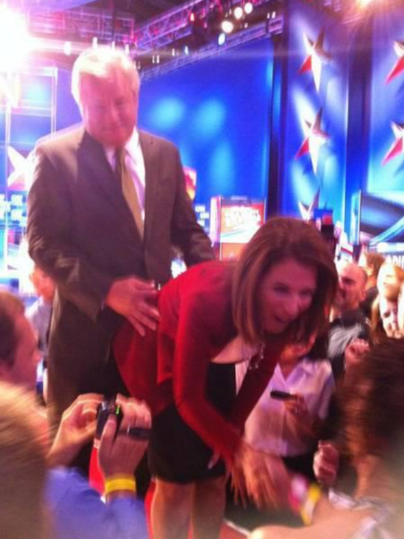 Getting Bachmann from behind. TFM.