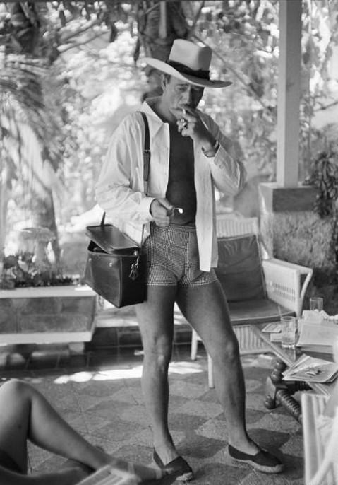 John Wayne's shorts. TFM.