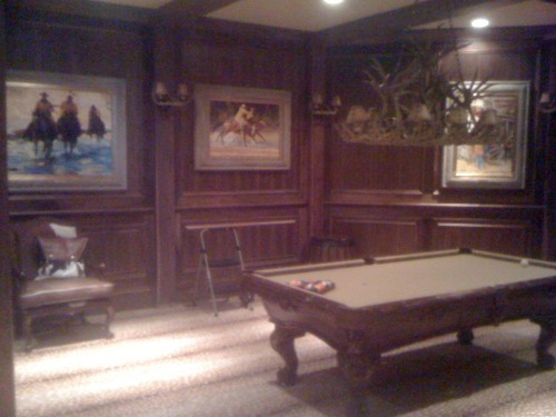 Wyatt Earp Room.