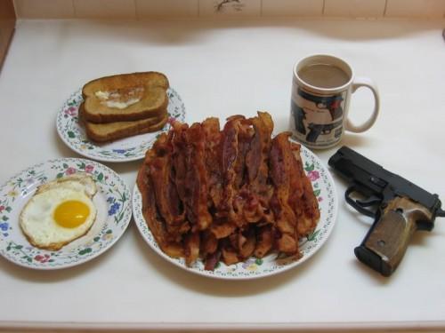 Ron Swanson breakfast. TFM.