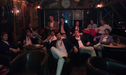 The cigar room. TFM.