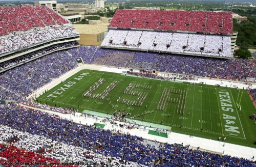 Texas A&M University will never forget.