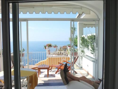 Summer morning on Italian Riviera. TFM.