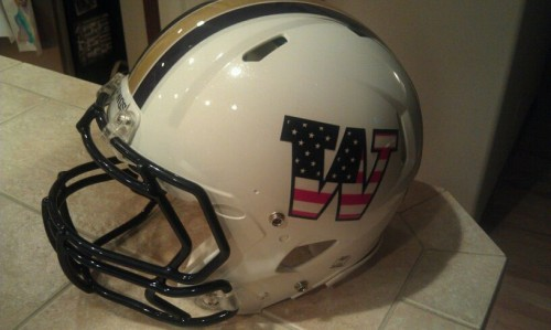 Living in the Pacific NW. NF. These UW helmets. TFM.