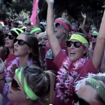 USC Bid Day: Running of the Pigs