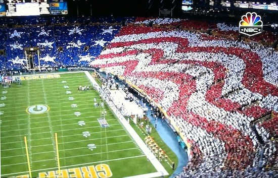 Football and 'Merica. TFM.