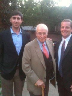 Casual Columbus Day with my friend Dick Cheney.
