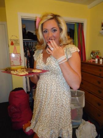Trophy housewife. Cookies anyone?