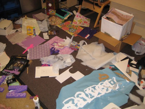 Did Michaels throw up in my room? No, it's Big/Little Week!