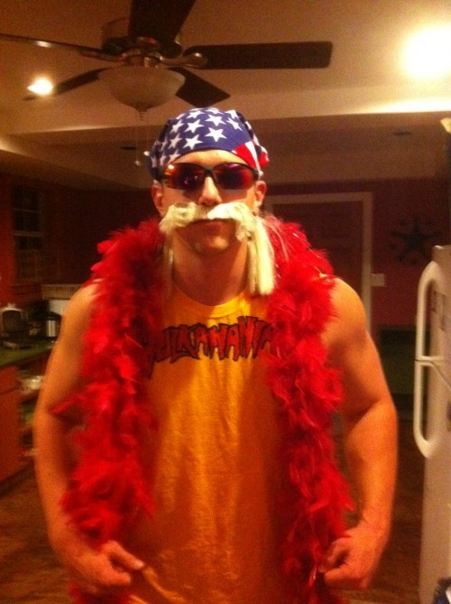 "Hulk Hogan, ""The Real American."""