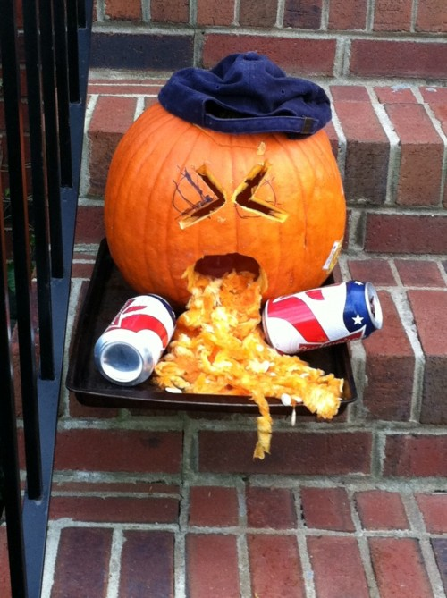 Freshman Pledge Pumpkin.