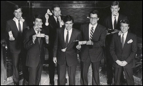 Mitt Romney and the founding members of Bain Capital. TFTC.