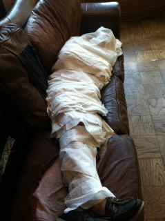 The Pledge Mummy Returns.