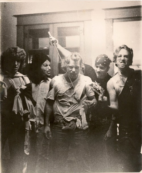 A bit of dad's frat life, circa Halloween 1979