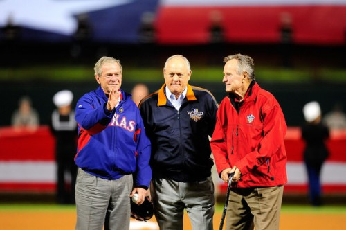 Fathers, sons, presidents, and owners supporting America's oldest traditon: winning. TFM.