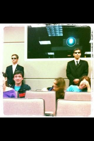 Secret Service Pledges.