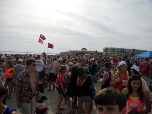 St. Simons Frat Beach.