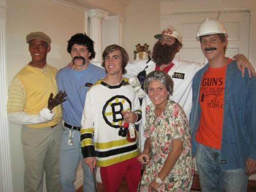 Happy Gilmore Crew.