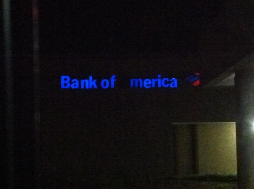 Bank of 'Merica. Where the 1% does business. TFM.
