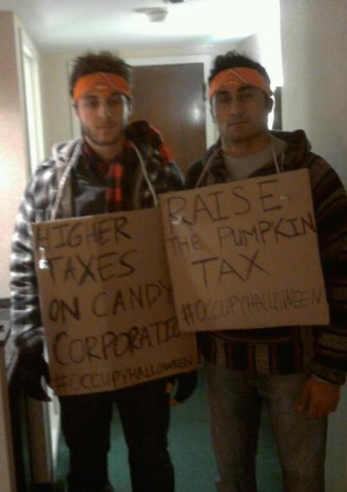 Occupy Halloween.
