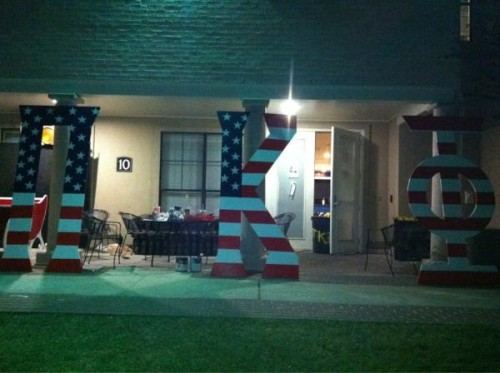 Supporting America. TFM.