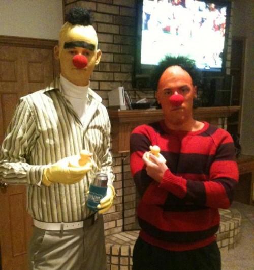 Bert and Ernie. FaF.