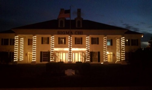 Another Sigma Chi Christmas.