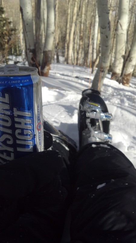 Less skiing, more drinking. TFM.
