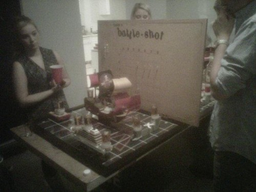 When you've mastered every other drinking game, make your own. TFM.