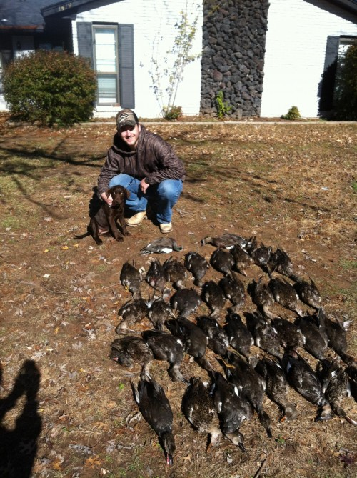Solid morning of hunting with the frathound. TFM.